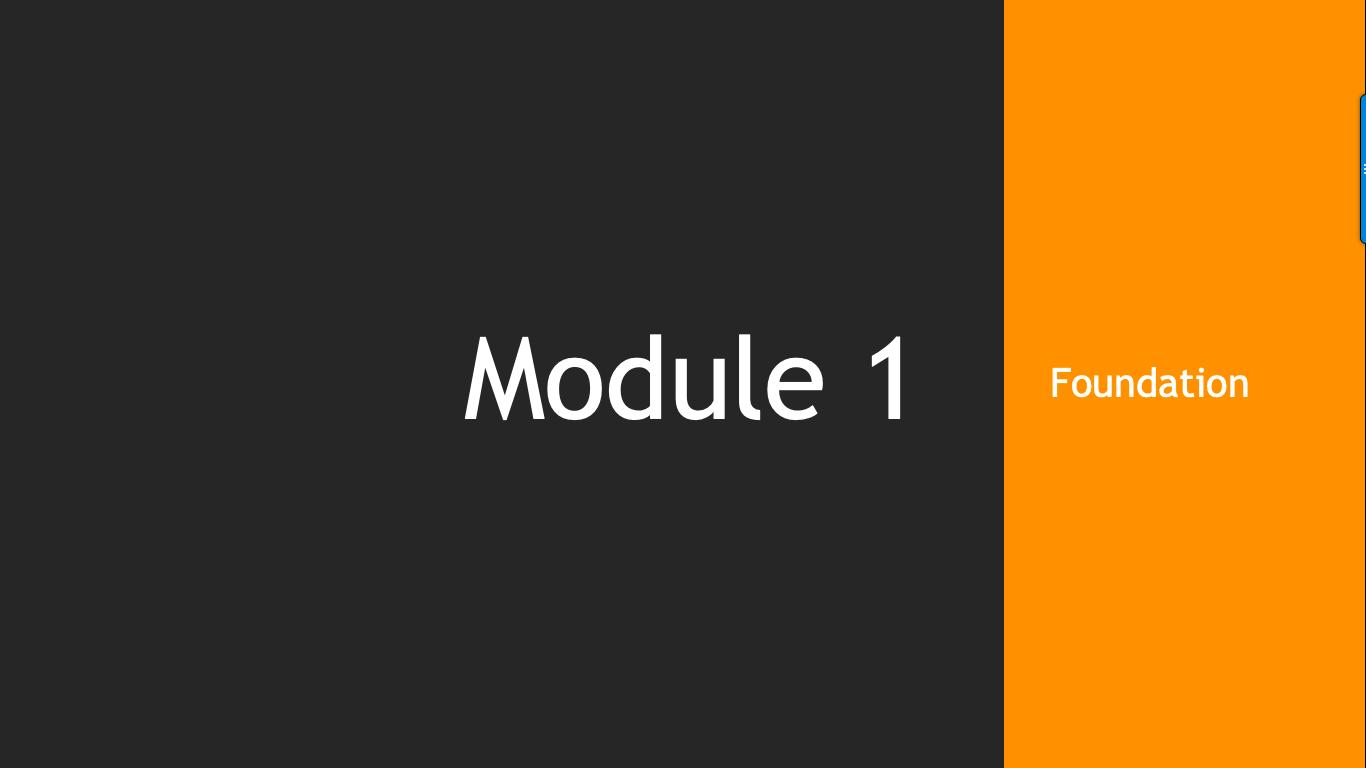 Trade Like A Pro Module 1