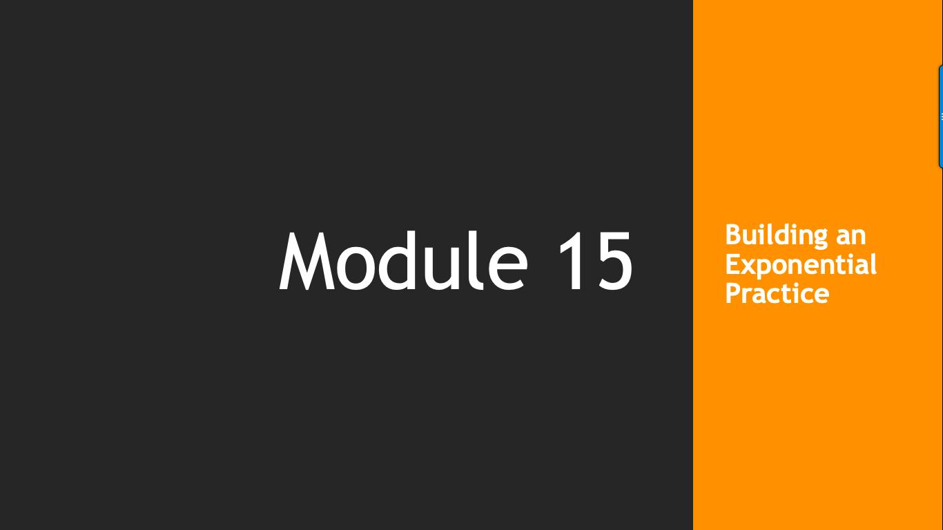 Trade Like A Pro Module 15