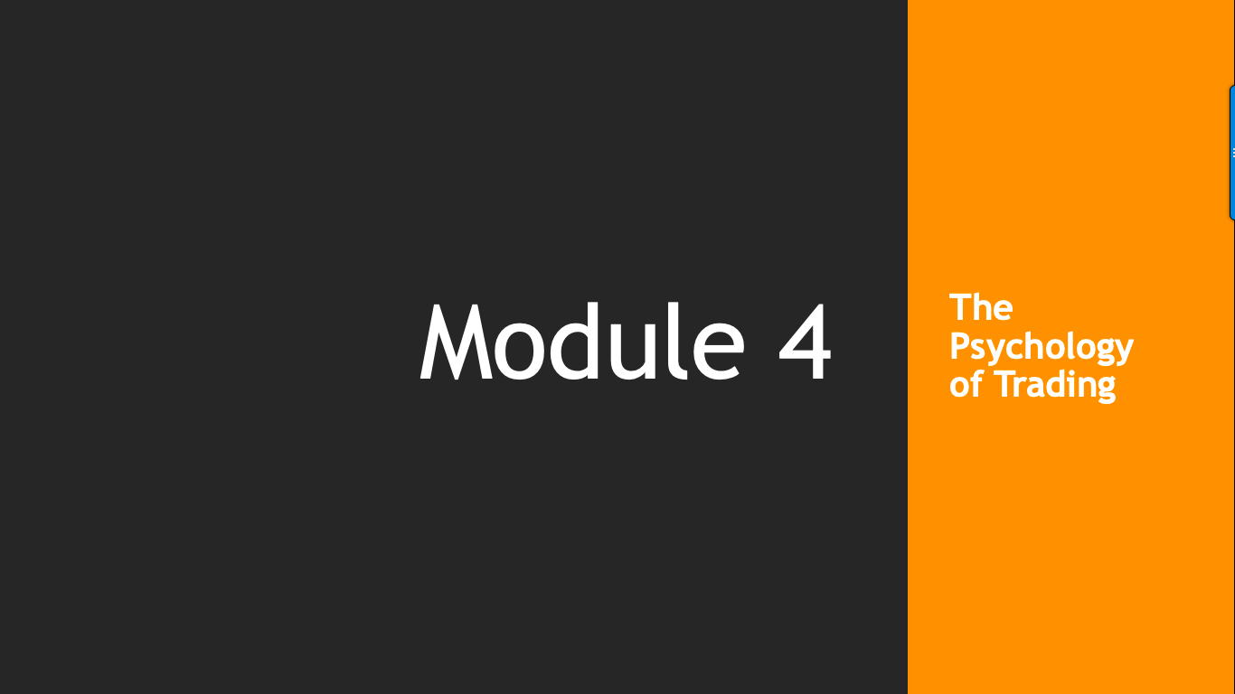 Trade Like A Pro Module 4