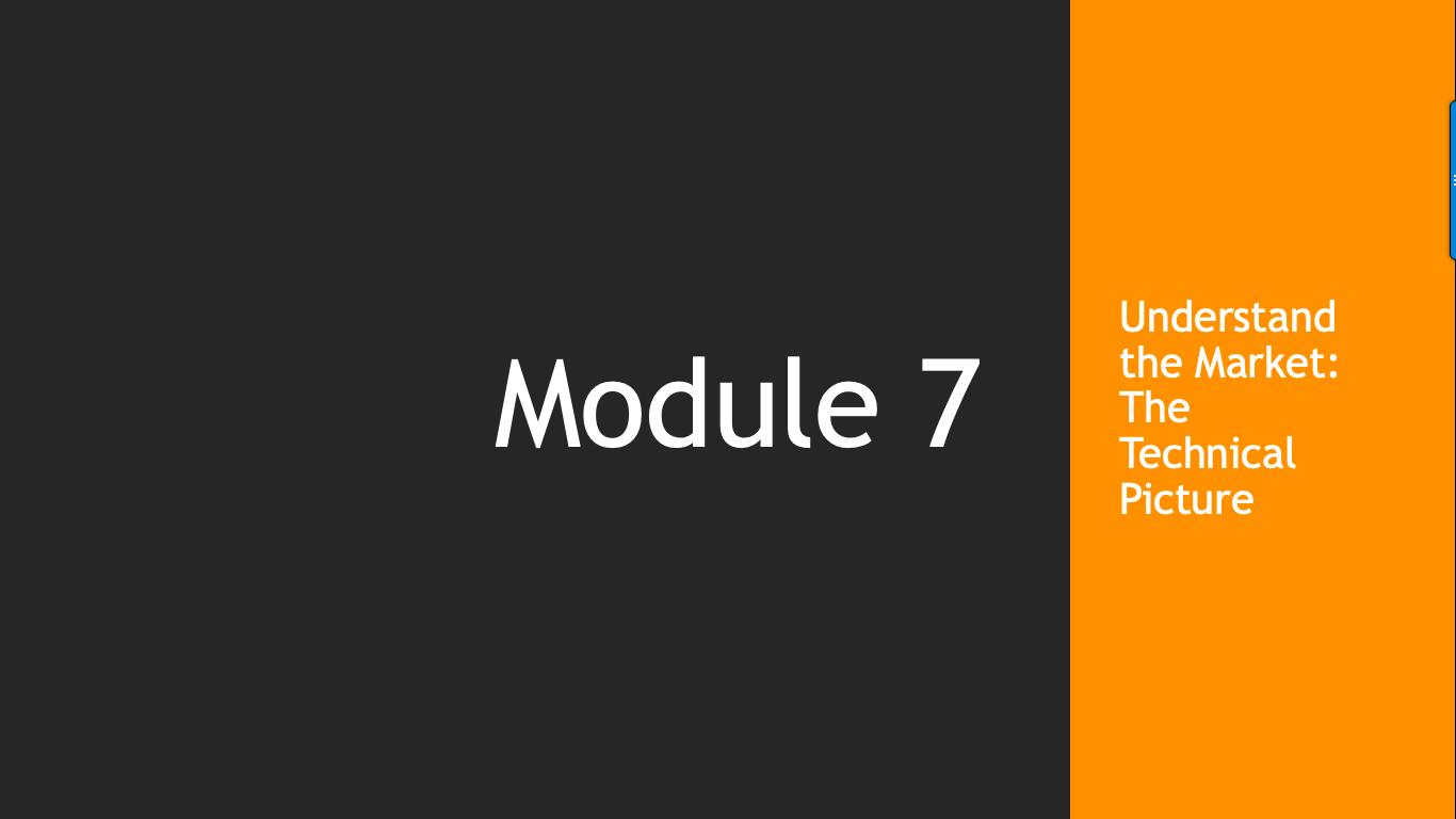 Trade Like A Pro Module 7