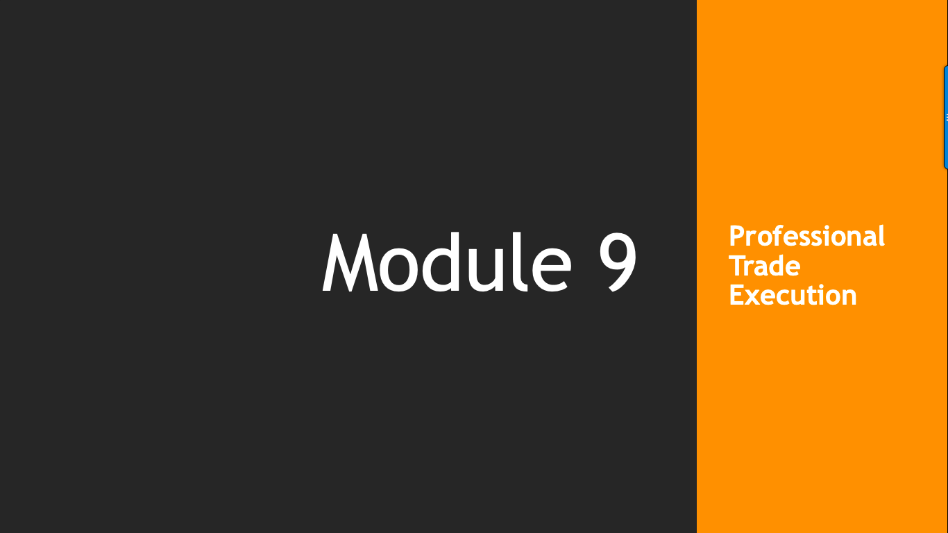 Trade Like A Pro Module 9